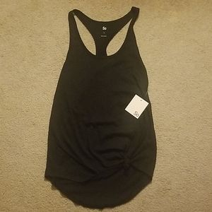 SO Women's Cotton Knotted Activewear Top - Size S
